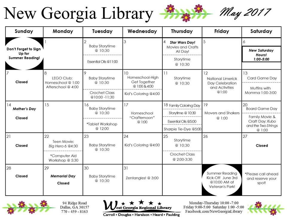 New Georgia Public Library